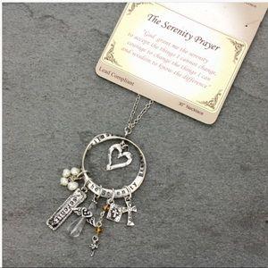 Jewelry - Serenity Prayer Religious Inspirational Necklace